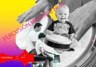 Percusión padre e hijo